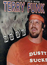Terry Funk Shoot Interview Wrestling DVD,  WCW  WWE ECW