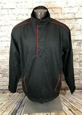 Snake Eyes Golf Performance Rainwear Windbreaker Jacket Black Men's Size Xl