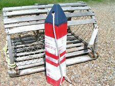 Large Maine Lobster nautical buoy, 19 3/4 inches