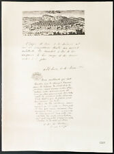 1926 - Lithographie citation de Mgr Heylen, Mgr Rutten -  Belgique guerre 14/18
