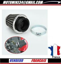 filtre à air moto style KN 49 mm a 50 mm AIR FILTER carbu moto power air filter