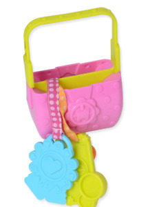 Evenflo Exersaucer Tea Party Interchangeable Replacement Part Purse With Keys