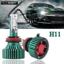 NOVSIGHT Universal 16000LM H11 H8 H9 LED Headlight Bulbs White -CREE XHP50 Chips