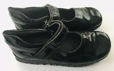 Elefanten Girls Black Patent Dressy Maryjane Shoes Euc 33 Us Sz 2