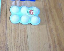 Leap Frog Pretend & Learn Shopping Cart Grocery Food Only # 6 Replacement Eggs