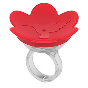 ZUMMR Hummingbird Ring Feeder Red