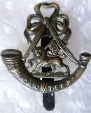 Badge- London Volunteer Rifles Regiment Cap Badge (BRASS Original)