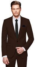 CRIXUS Herren Anzug - 3 teilig - Slim Fit Smoking Business Hochzeit CS_