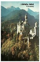 Pan American Pan Am Germany Travel Postcard Posted 1980 from Osaka Japan