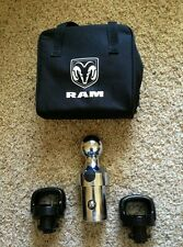 11-17 Dodge Ram 2500 3500 2 5/16 TOWING HITCH GOOSENECK BALL KIT OEM NEW MOPAR