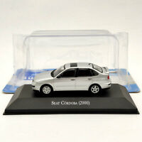 IXO 1/43 Seat Cordoba 2000 Silver Diecast Models Limited Edition Collection