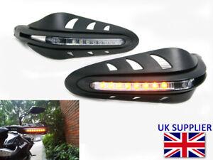 LED Clignotant Intègre Protège Main Pour Triumph Tiger 1050 / Se