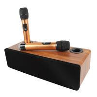 Bluetooth Condenser Wireless Mic Kit for Karaoke TV KTV Speaker Audio Amplifier