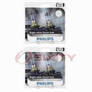 2 pc Philips Low Beam Headlight Bulbs for Chevrolet Astra Astro Avalanche mw