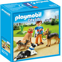 PLAYMOBIL 9279 City Life Dog Trainer with Students