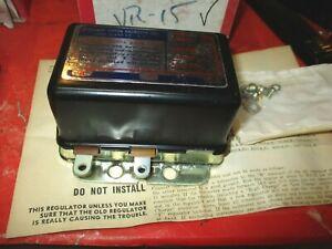 MOPAR 1956-62 JEEP 1959-74--STUDE. 1956-60- 12VOLT--NEW  Voltage Regulator -USA