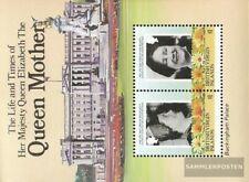 Jungferninseln Blok 24 (compleet.Kwestie.) MNH 1985 Queen Mother Elizabeth