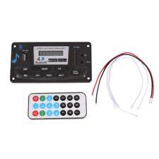 Wireless Bluetooth4.0 12V MP3 WMA Decoder Board Audio Module USB TF Radio FR Car