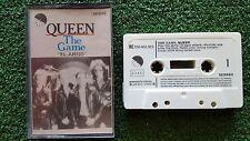 "QUEEN ""The Game - El Juego"" ORIGINAL 1980 Spain CASSETTE Freddie Mercury"