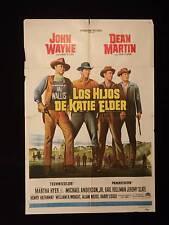 THE SONS OF KATIE ELDER * JOHN WAYNE * DEAN MARTIN * ARGENTINE 1sh MOVIE POSTER