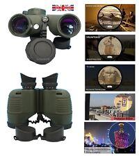 High Definition Military Binocular Waterproof Night Vision Range Finder Compass