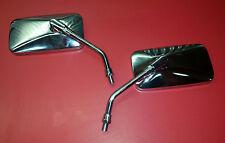 Yamaha VStar 650 & 1100 V-Star Custom - CHROME rectangular mirror (left & right)