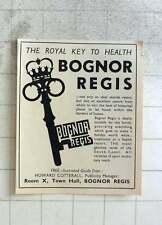 1950 Bognor Regis, The Royal Key To Health, Howard Cotterall