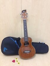 Leaf L100 All-Mahogany Concert Ukulele,Gloss+10mm Padded (B)Gig Bag