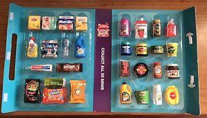 Coles Little Shop Mini Collectable Case Folder Full Set 30 +48 Unoppened +6 Xmas