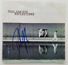 Paul Van Dyk Signed Reflections CD Booklet Trance EDM House LEGEND RAD