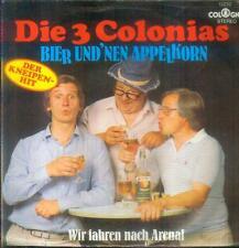 """7"""" 3 Colonias/Bier Und ´Nen Appelkorn"""