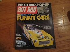 VINTAGE HOT ROD MAGAZINE NOVEMBER 1973 VW Lo-Buck Hop-Up/.Funny Cars