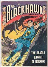 BLACKHAWK #48, 1952 QUALITY, VG CONDITION