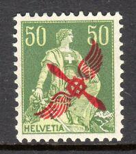 Switzerland - 1919 Airmail opt. / Propellor -  Mi. 145 MNH