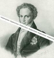 Josef Ludwig Graf von Armansperg - Nach einem Gemälde - um 1930   W 25-5