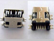 2x Connecteur à souder mini USB type B femelle / 2x Female connector solder SMT