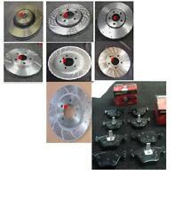 Bmw E36 320 325 318 perforados acanalado Disco De Freno Y Almohadillas