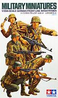 Tamiya 35196 German Front-Line Infantrymen 1/35 scale kit