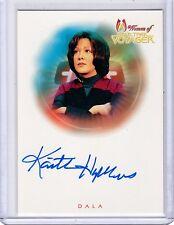 Star Trek  Woman of Voyager A13 K.Hopkins auto card