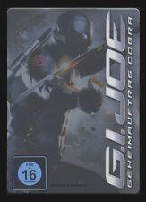 DVD G.I. JOE - GEHEIMAUFTRAG COBRA - STEELBOOK (GI) - MARLON WAYANS *** NEU ***