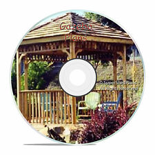 Custom Design Gazebo Plans, 10ft Square Gazebo Plans, DIY Guides, How To CD