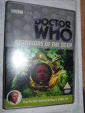 Doctor Who Warriors of the Deep (Sp.Edition)  Peter Davison Dr Who  NEW UNPLAYED
