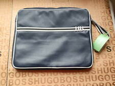 NEW HUGO BOSS BLUE DOCUMENTS LAPTOP NET BOOK TABLET TRAVEL SLEEVE CARRY CASE BAG