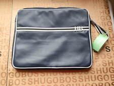 NEW HUGO BOSS BLUE DOCUMENTS LAPTOP NET BOOK TABLET TRAVEL SLEEVE CARRY CASE BAG