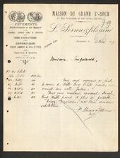 """MONTPELLIER (34) CONFECTIONS sur Mesures :/ VETEMENTS """"L. SERROU & Fils"""" en 1917"""