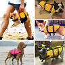 Pet Dog Life Jacket Vest Reflective Dog Preserver Aquatic Swimming Saver XXS-XXL
