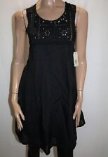 BILLABONG Brand Black Gypsy Walk Dress Size 12 BNWT #TQ14