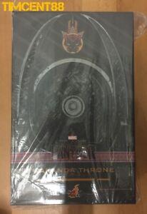 Ready! Hot Toys ACS005 Black Panther 1/6 Wakanda Throne New