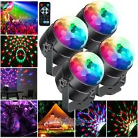 Party Disco Lights Strobe LED Rotating DJ Ball Sound Activated Indoor Dance Lamp