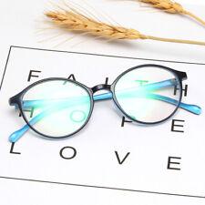 Oval Vintage Ojo De Gato Gafas de Moda Lente Claro Marco De Acrílico para Mujer Hombre